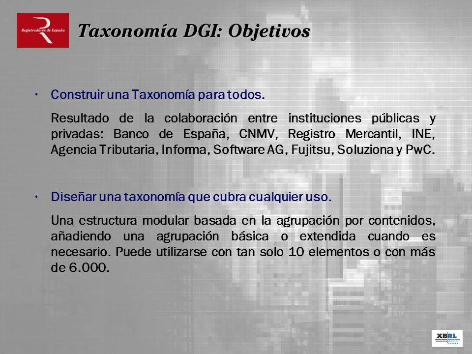 Construir una Taxonomía para todos. Resultado de la colaboración entre instituciones públicas y privadas: Banco de España, CNMV, Registro Mercantil, I
