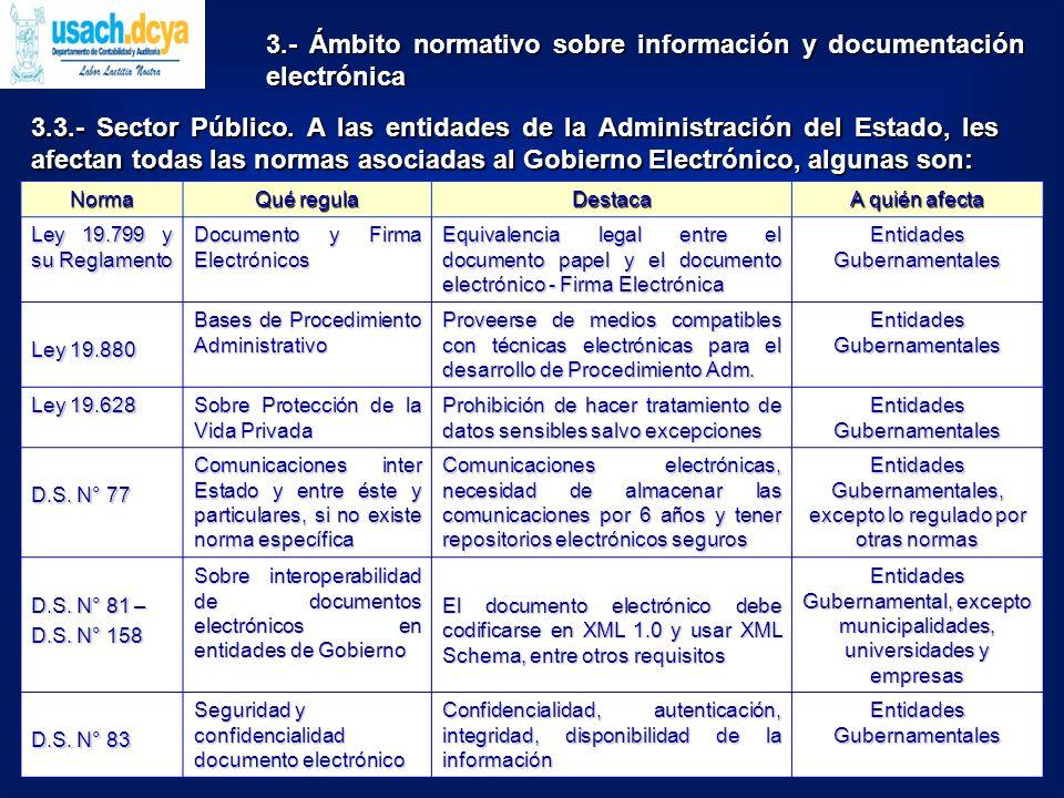 3.3.- Sector Público.