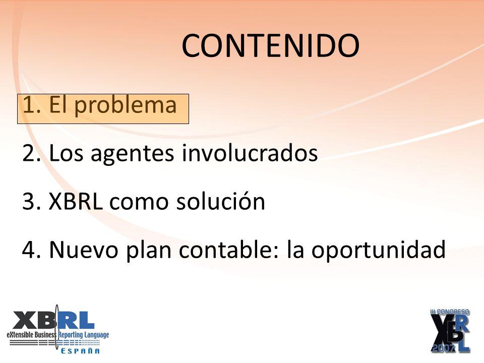 La necesidad de un estándar mundial utilizado por todos 3. XBRL COMO SOLUCIÓN