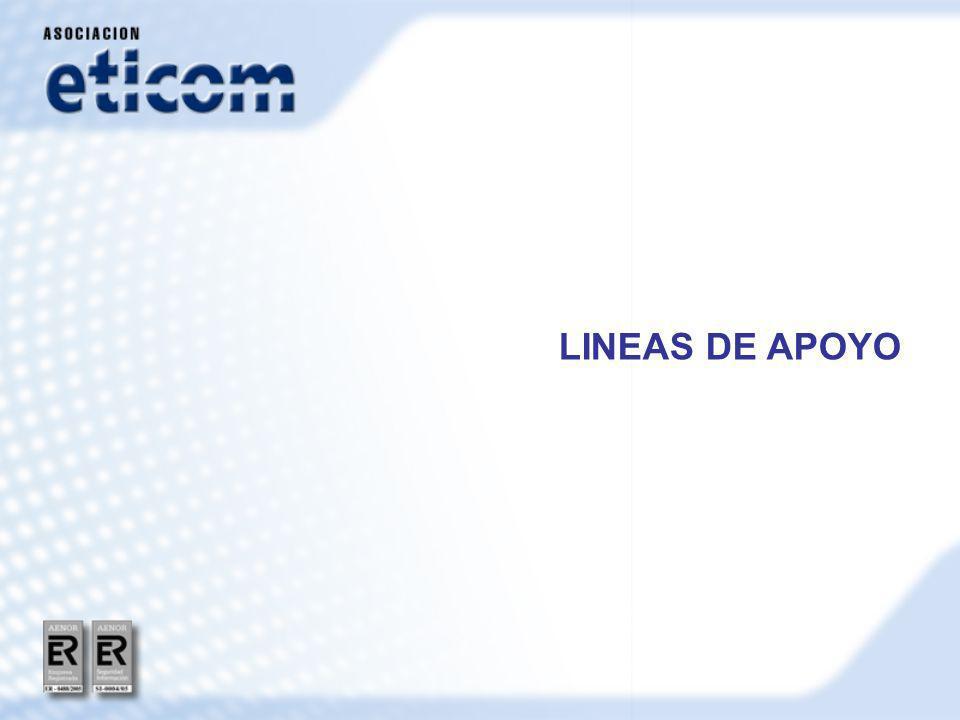 LINEAS DE APOYO