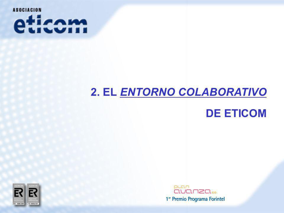 2. EL ENTORNO COLABORATIVO DE ETICOM