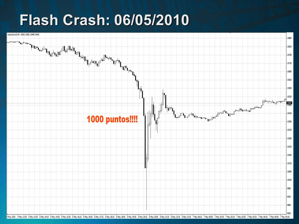 Flash Crash: 06/05/2010