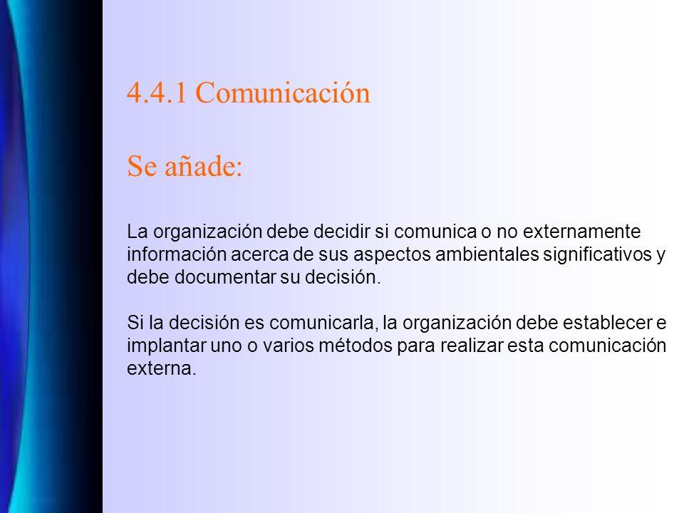 4.4.1 Recursos, funciones, responsabilidad y autoridad La dirección debe asegurarse de la disponibilidad de recursos esenciales para establecer, impla