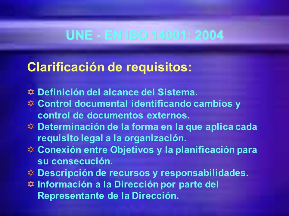 NOVEDADES Y Alineamiento con ISO 9001 en aspectos comunes de gestión.