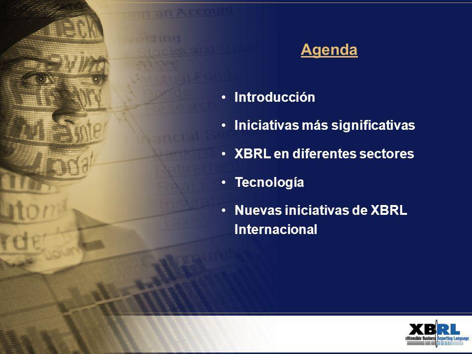 Tecnología madura La conferencia incluyó demostraciones de productos con soluciones que utilizan XBRL.