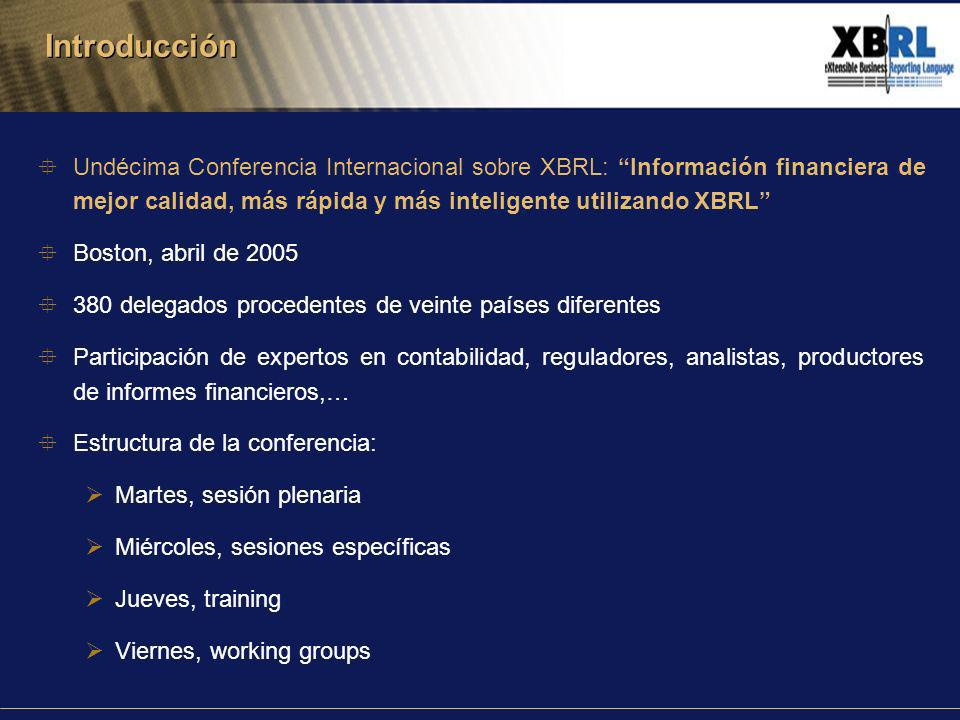 Programa Voluntario para la recepción de información financiera en XBRL U.S.