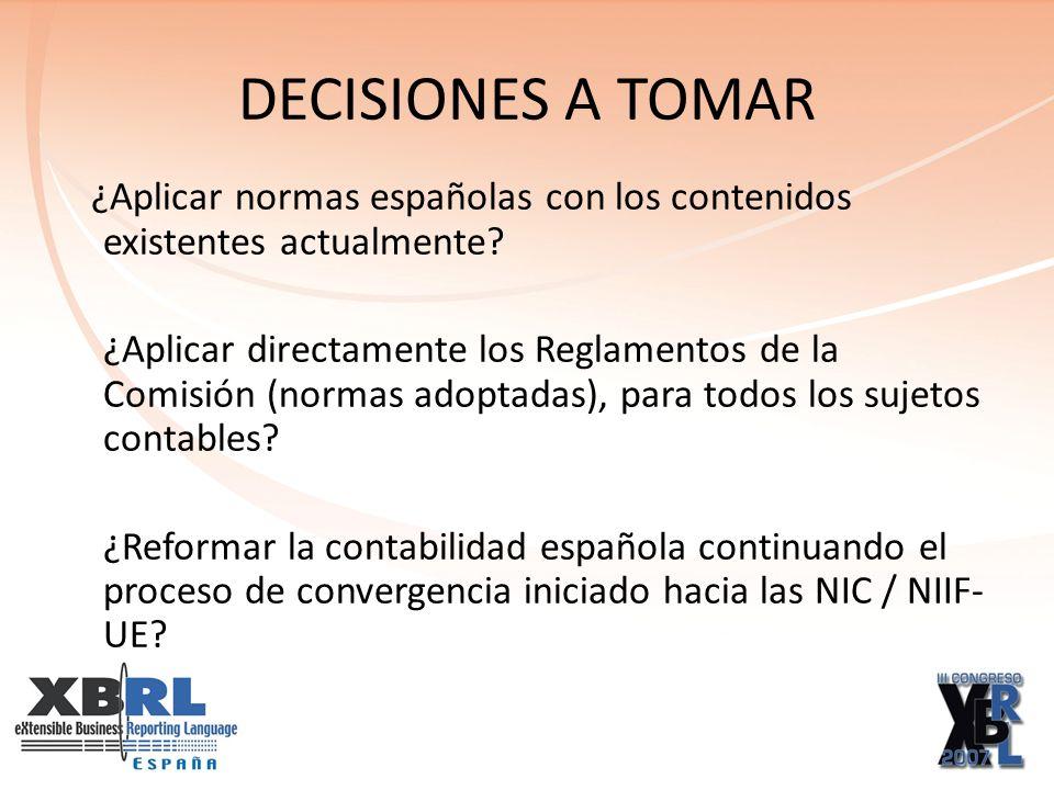 CONCLUSIÓN: Proceso gradual de reforma del Derecho Contable Español.
