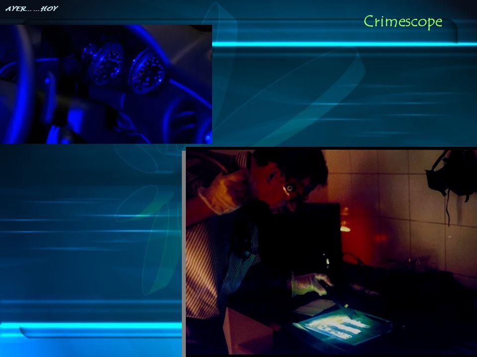 Crimescope AYER… …HOY