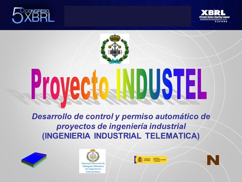 Desarrollo de control y permiso automático de proyectos de ingeniería industrial (INGENIERIA INDUSTRIAL TELEMATICA)