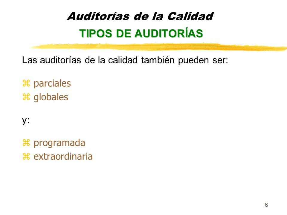 17 zExamen yLa auditoría se lleva a cabo siguiendo el programa específico previamente aprobado, aunque no tiene por qué limitarse a dichos puntos, si el equipo auditor, durante el transcurso de la auditoría lo considera necesario.