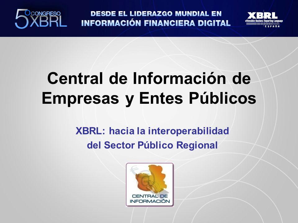 Central de Información de Empresas y Entes Públicos XBRL: hacia la interoperabilidad del Sector Público Regional