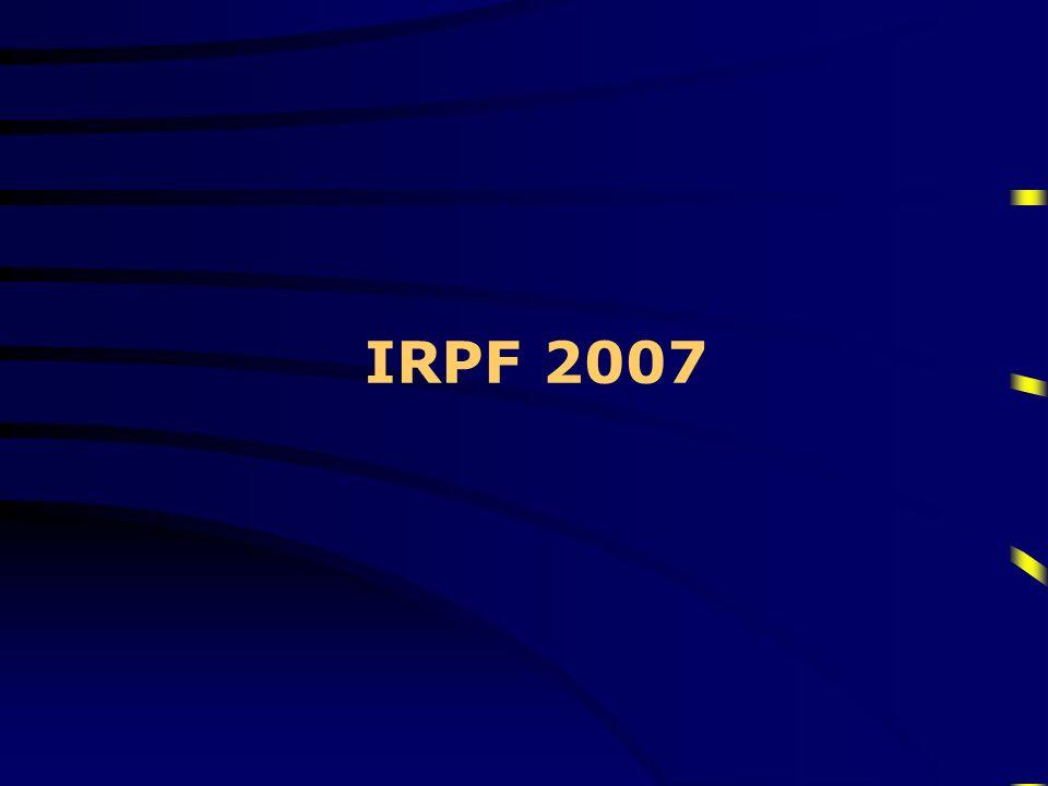 IRPF 2007