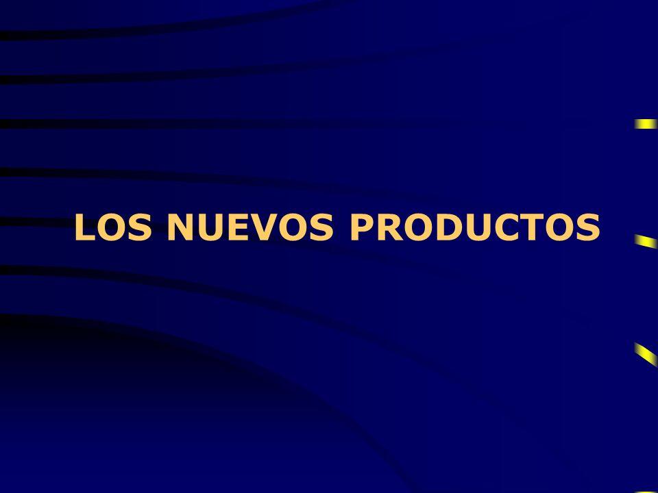 LOS NUEVOS PRODUCTOS