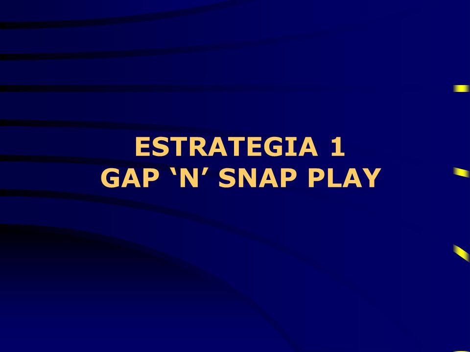 ESTRATEGIA 1 GAP N SNAP PLAY