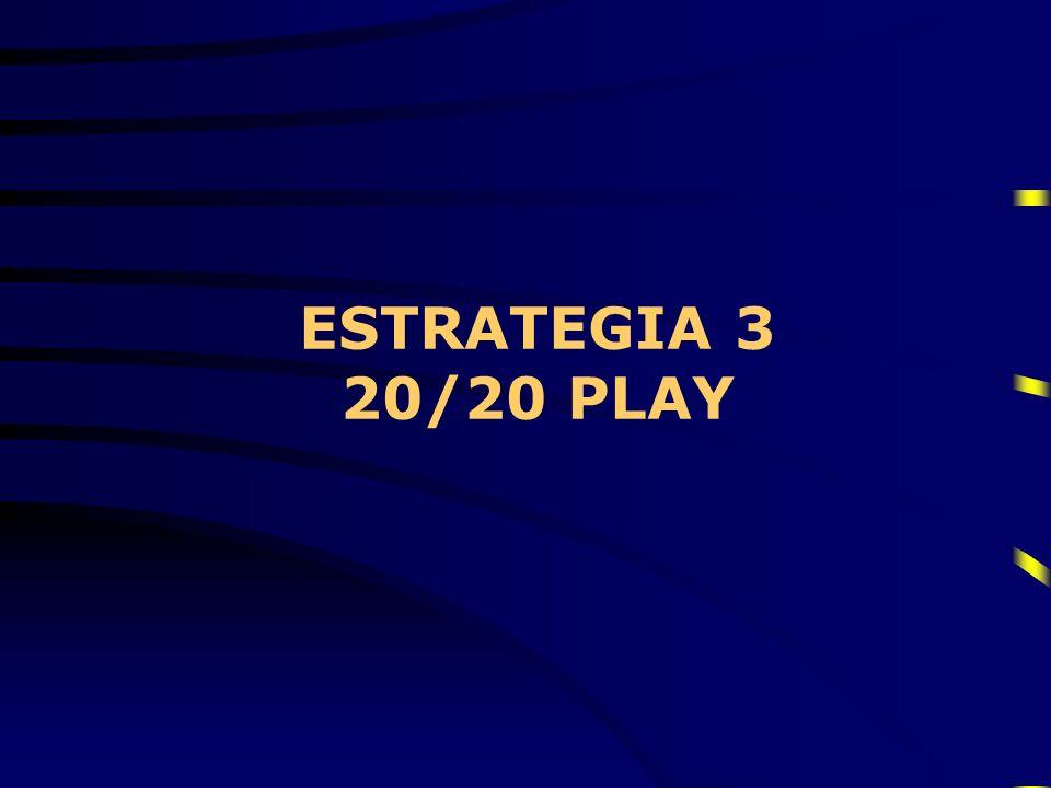 ESTRATEGIA 3 20/20 PLAY