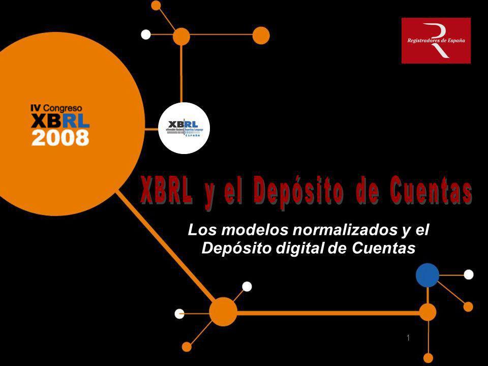 Los modelos normalizados y el Depósito digital de Cuentas 1