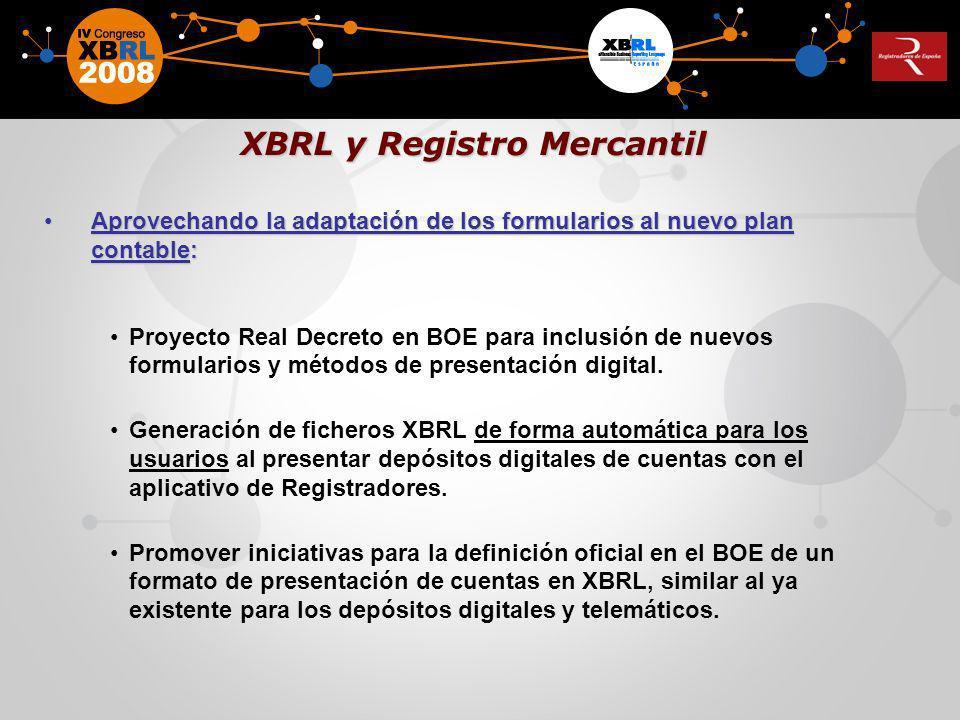 Formas de depósito explicitadas en el BOE a través de la correspondiente RESOLUCION de la Dirección General de los Registros y del Notariado.