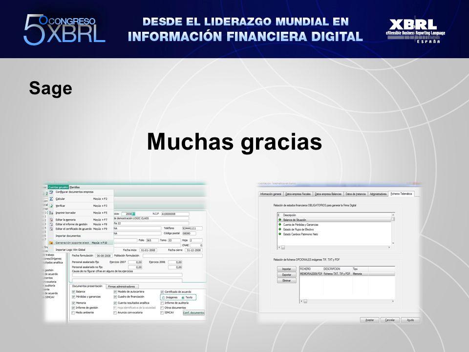 Sage Muchas gracias