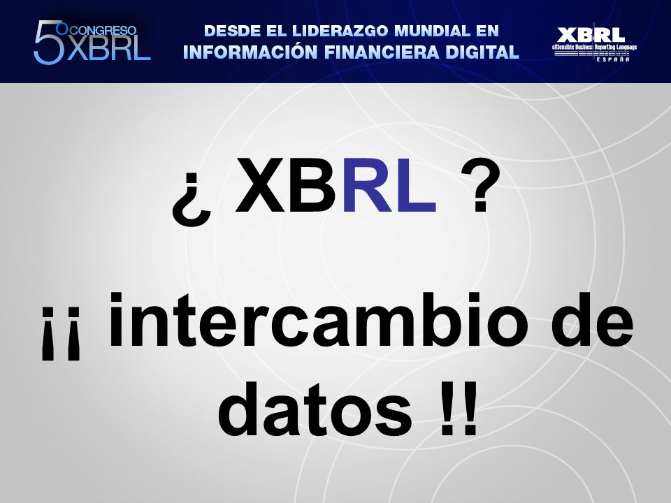 Colegio de Registradores: XBRL obligatorio para la remisión electrónica de cuentas anuales de las empresas en 2009.