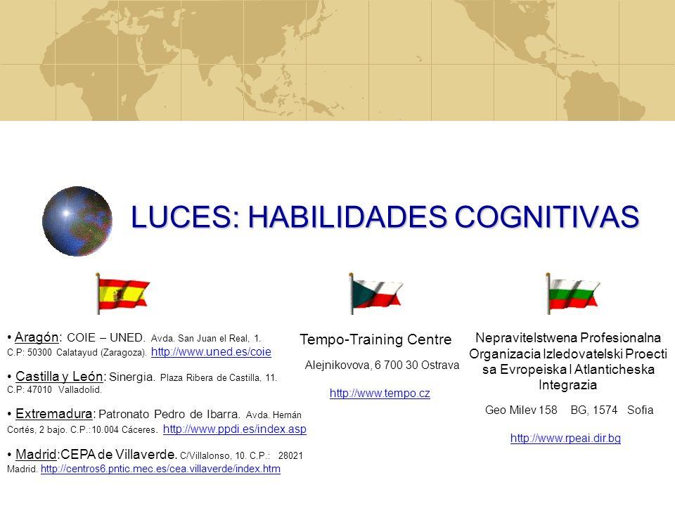EL AUTOEMPLEO EN EUROPA PROYECTO LUCES: HABILIDADES COGNITIVAS JUAN ANTONIO MORIANO GRUNDTVIG http://www.uned.es/coie/luces INSERCIÓN Y DESARROLLO PRO