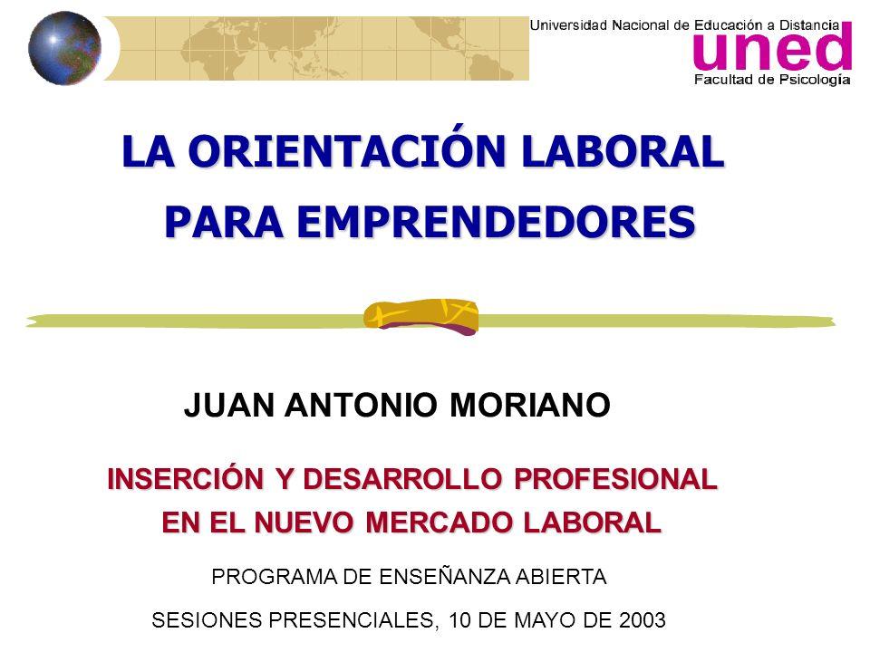 Metas laborales (2) Emprendedores españoles Posibilidades de aprender El trabajo interesante. Nuevos retos. La innovación. Emprendedores búlgaros Buen