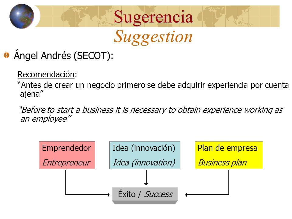 http://www.secot.org Seniors Españoles para la Cooperación Técnica (SECOT) Estudio Cualitativo: Entrevistas con expertos