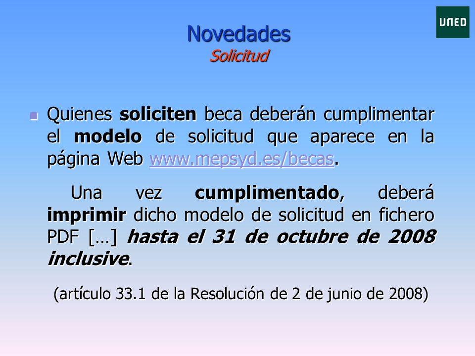 1 2 Entrar en la Página web: www.mepsyd.es/becaswww.mepsyd.es/becas