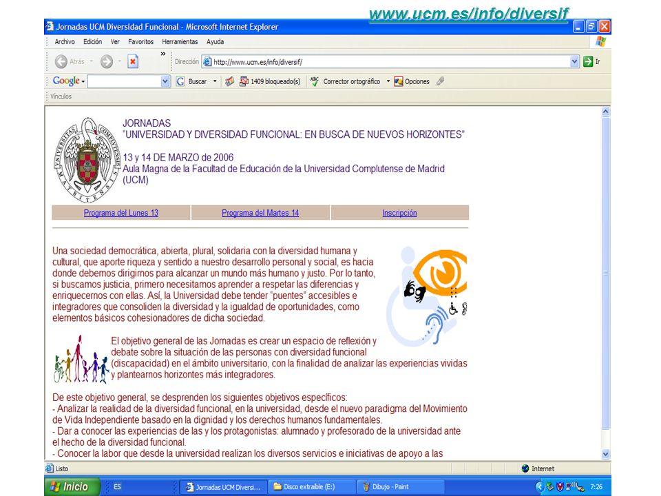 Nuria Villa Fernández UCM www.ucm.es/info/diversif