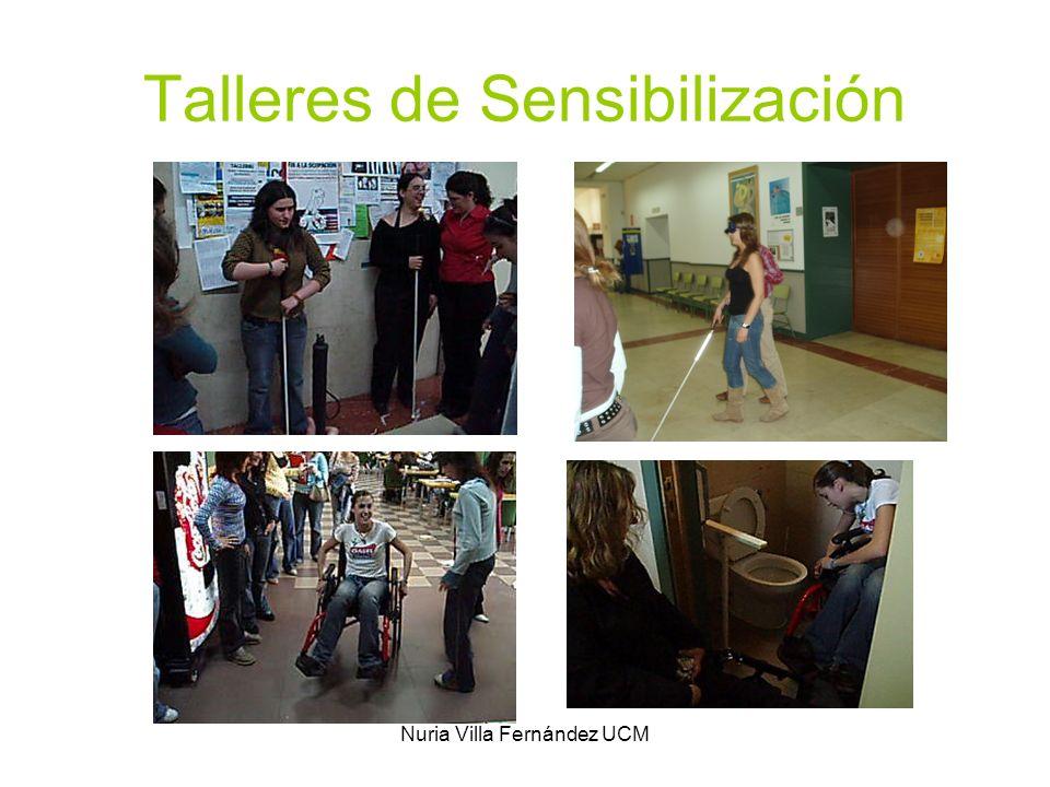 Nuria Villa Fernández UCM Talleres de Sensibilización
