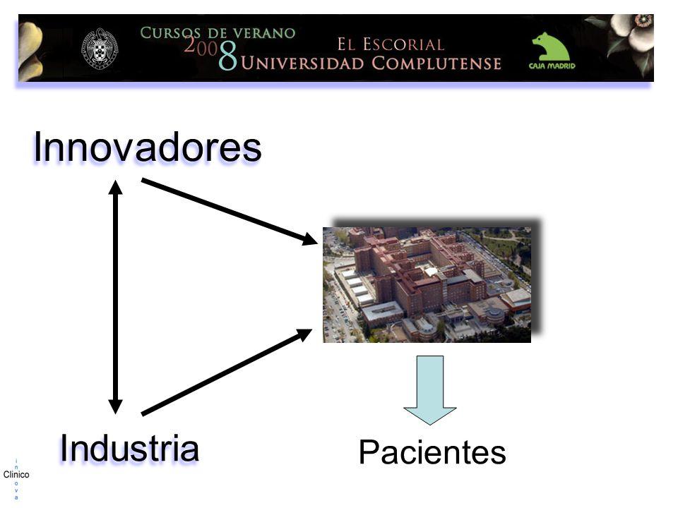 Innovadores Pacientes Industria