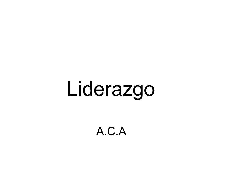 Liderazgo A.C.A