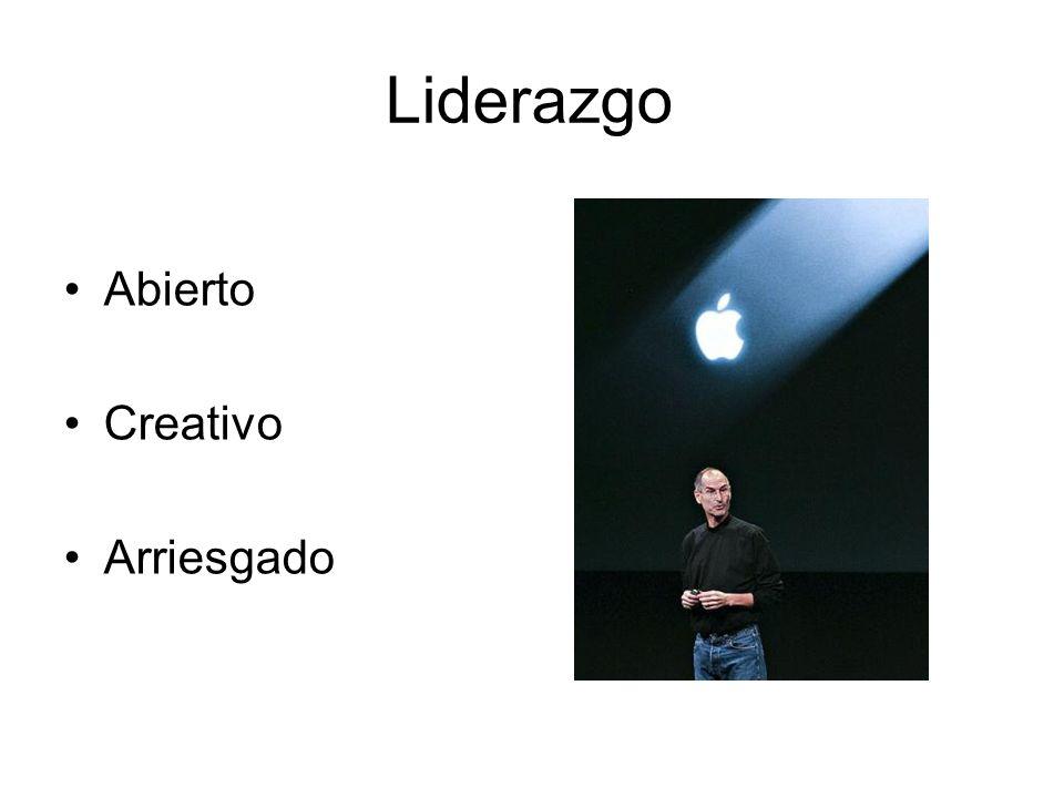 Liderazgo Abierto Creativo Arriesgado