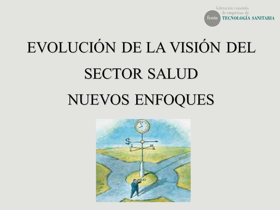 EVOLUCIÓN DE LA VISIÓN DEL SECTOR SALUD NUEVOS ENFOQUES