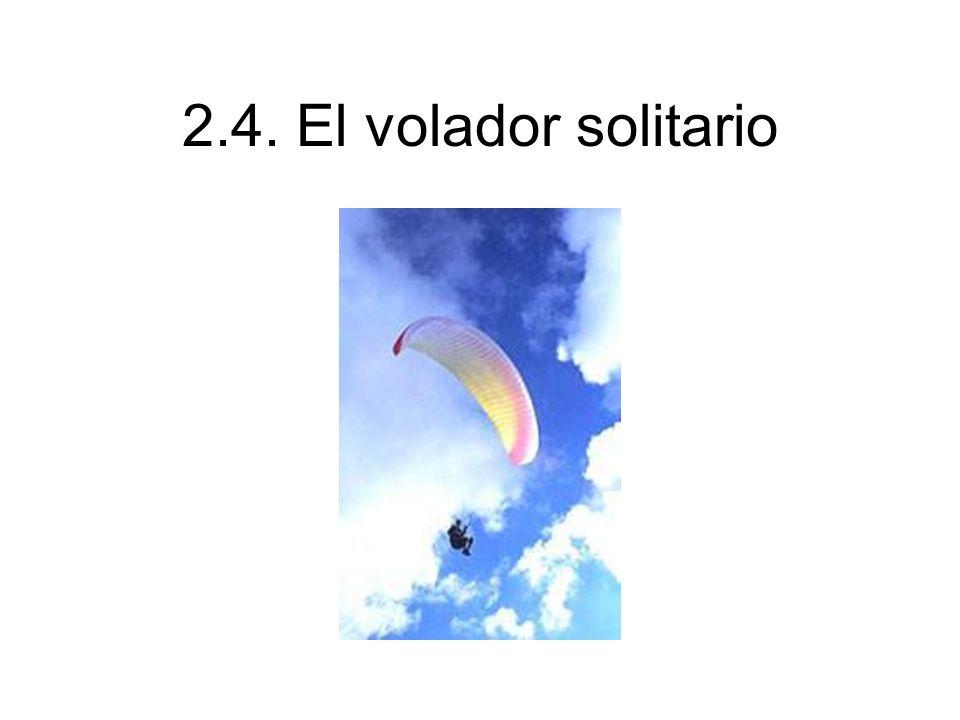 2.4. El volador solitario