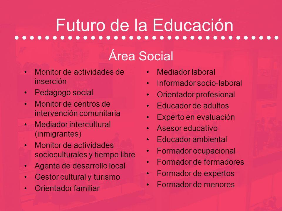 Futuro de la Educación En la Sociedad del Conocimiento se han abierto grandes perspectivas en el ámbito de la educación – Área Social – Área de Empres