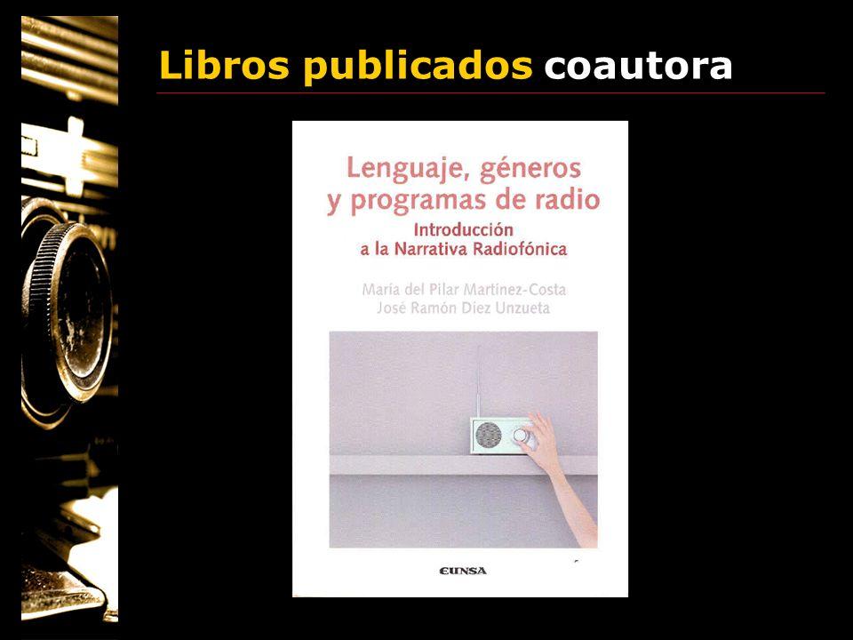 Libros publicados coautora