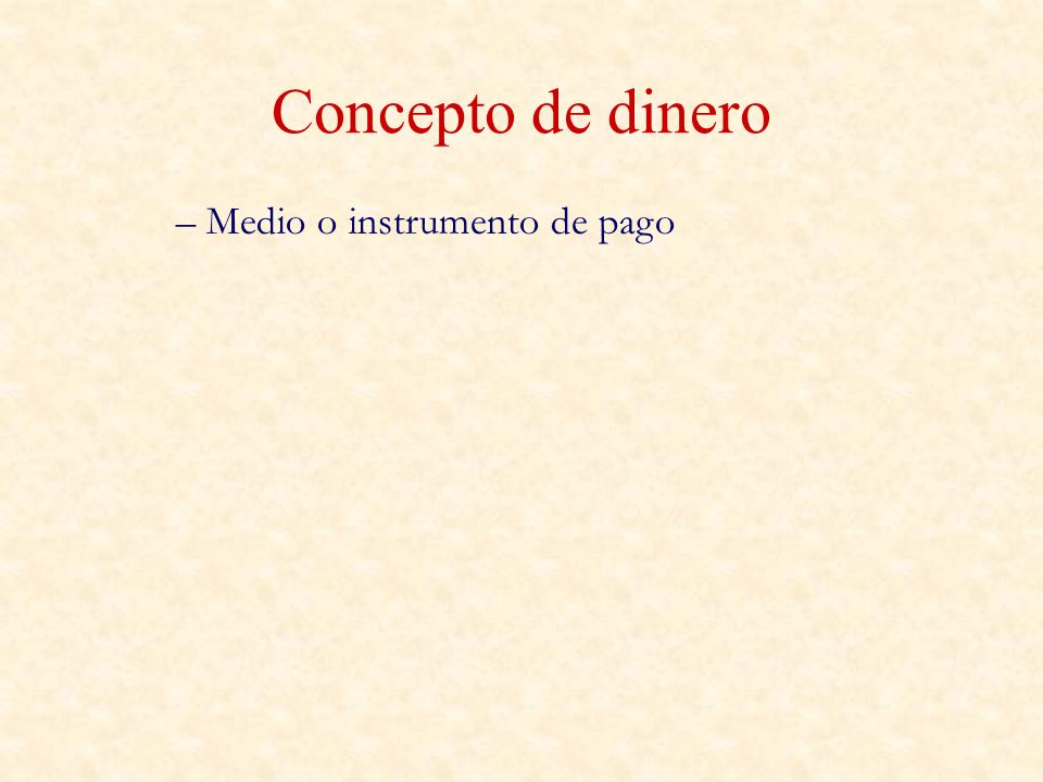 Instrumentos de MF – Mercados de Dinero (c/p) Mercado Interbancario (FFR, c/p) Otros (cuentas corrientes, letras del tesoro…)