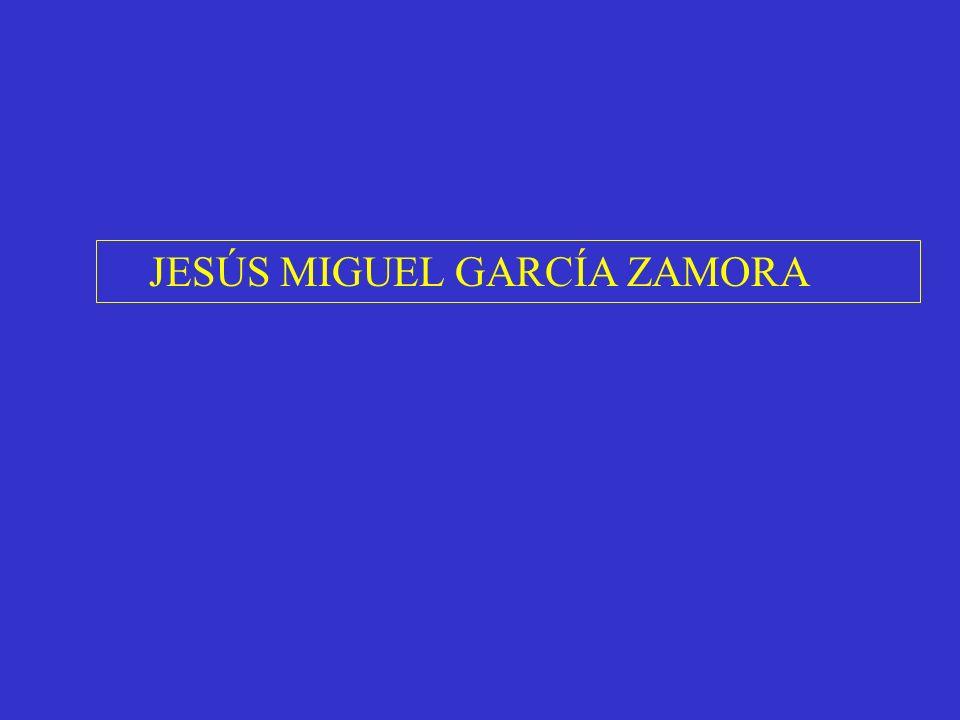 JESÚS MIGUEL GARCÍA ZAMORA
