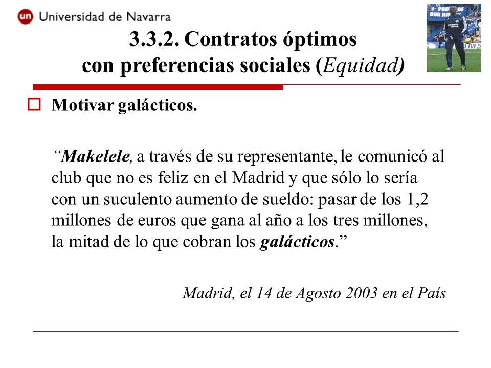 Motivar galácticos. Makelele, a través de su representante, le comunicó al club que no es feliz en el Madrid y que sólo lo sería con un suculento aume