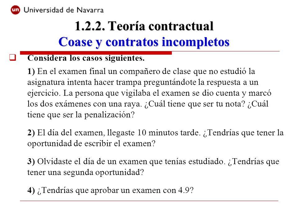 Considera los casos siguientes. 1) En el examen final un compañero de clase que no estudió la asignatura intenta hacer trampa preguntándote la respues