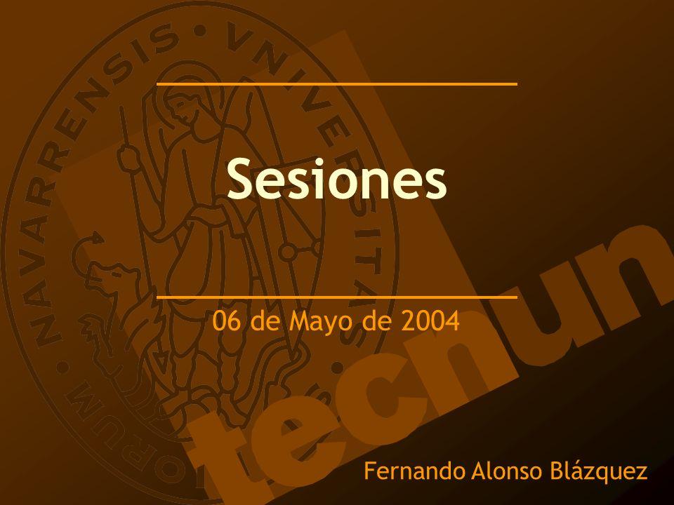 Fernando Alonso Blázquez Sesiones 06 de Mayo de 2004