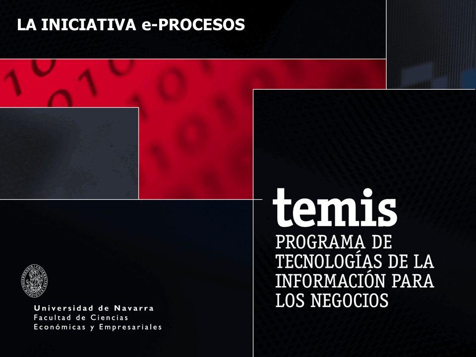 LA INICIATIVA e-PROCESOS Una cooperación entre Empresarios Alaveses-SEA y la Universidad de Navarra para la optimización de procesos de negocio Prof.