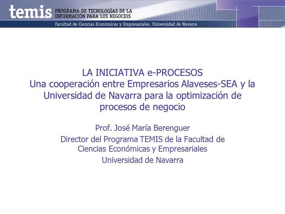 3 Contenido La Iniciativa e-Procesos.El diseño de la colaboración.