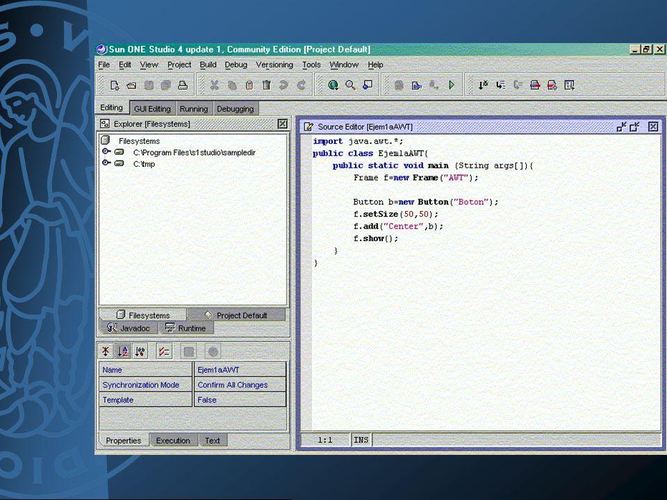Entornos IDE (Integrated Development Environment)