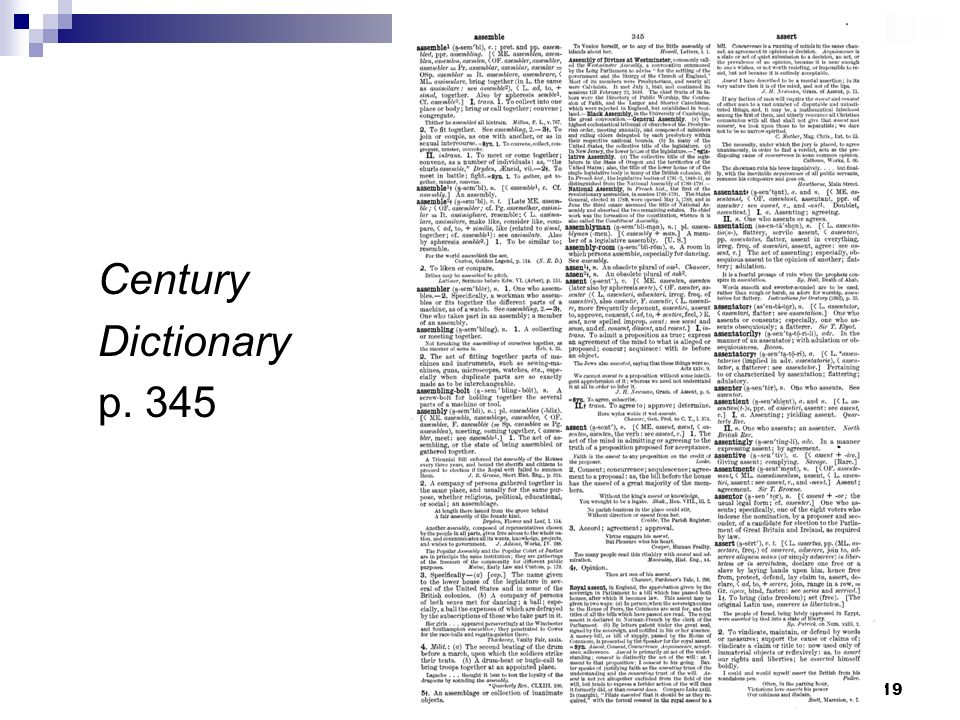 Century Dictionary p. 345 19