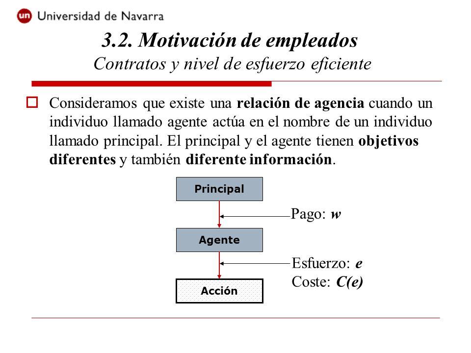 Introducir incertidumbre es crucial ya que los contratos de remuneración incluyen 2 elementos básicos.