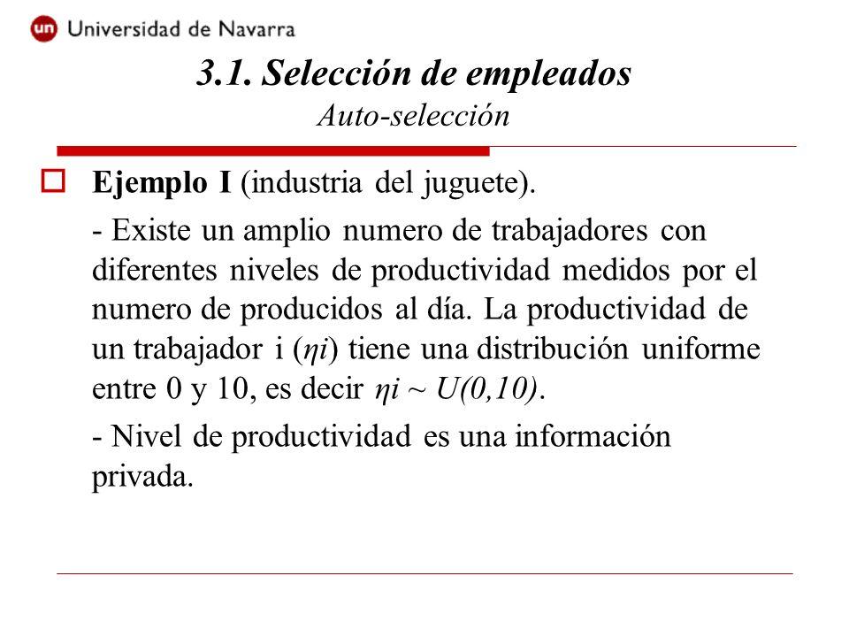 Ejemplo I (industria del juguete).