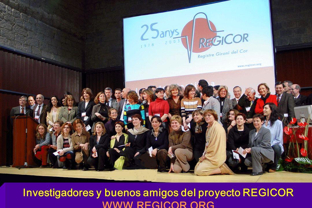 Investigadores y buenos amigos del proyecto REGICOR WWW.REGICOR.ORG