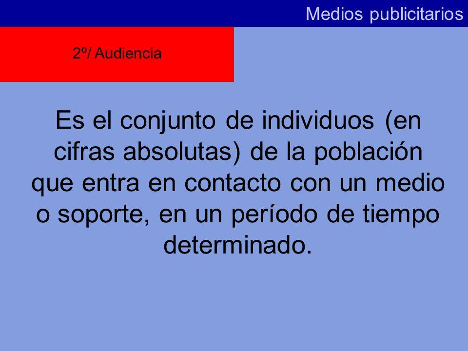 Según el EGM, la penetración de Medios en España es: Medios publicitarios DIARIOS:38 % SUPLEMENTOS:33,8% REVISTAS:54,7% TELEVISIÓN:91,1% RADIO:56,5% C