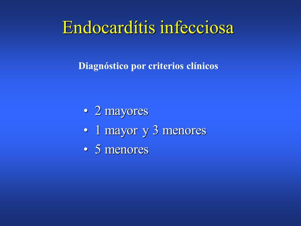 Endocarditis infecciosa Criterios Diagnósticos de DURACK (DUKE) Predisposición(afectación cardíaca previa)Predisposición(afectación cardíaca previa) F
